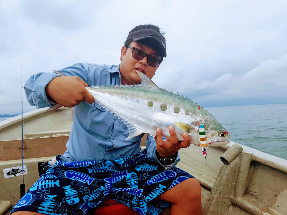 Thank you Nigel Lian from Singapore. It was overcast in Port Dickson, fishing was good.. it was a perfect Monday morning for us LOL